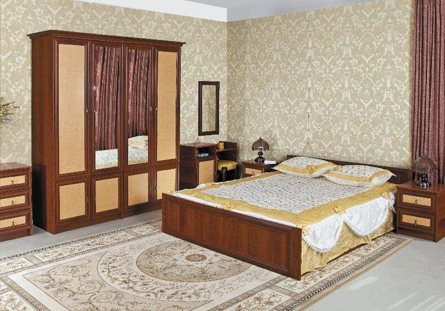 Спальня Ким ротанг