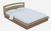 Верона Кровать (матовый)