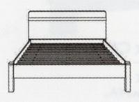 Магнолия Кровать (КТ-713)