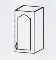 Оля МДФ навесной шкаф 400 ШКН-611