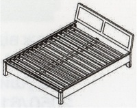 Орфей Кровать двухспальная (КТ-712)