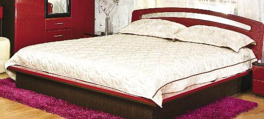Верона Кровать (Лилия лак)