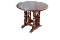 Кухонный стол круглый Бавария-03 раскладной