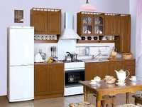 Кухня Карина МДФ с пеналом 2.6